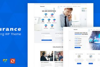 Insurance - Consulting WordPress Theme